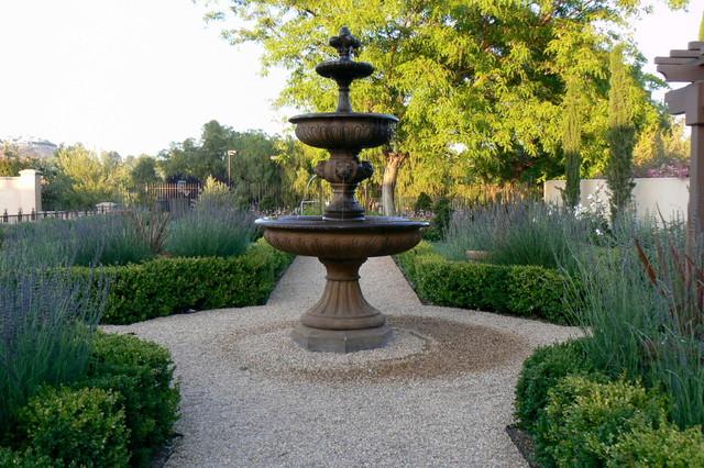 italian formal garden
