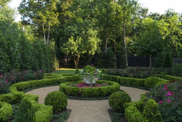 Italian villa traditional landscape dallas by for Italian landscape design