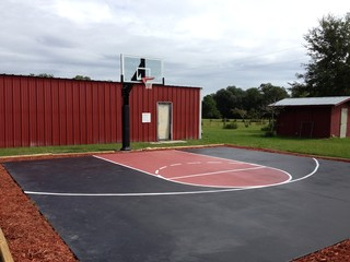 James M's Hercules Diamond Basketball System on a 25x25 in Lake City, FL - Traditional ...