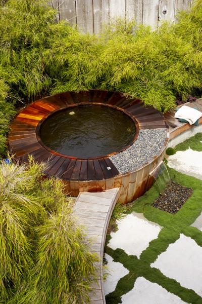 Japanese Cottage modern-landscape