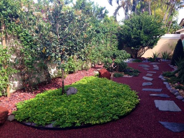Japanese Garden for Small Backyard - Asian - Garden - Miami - by ...
