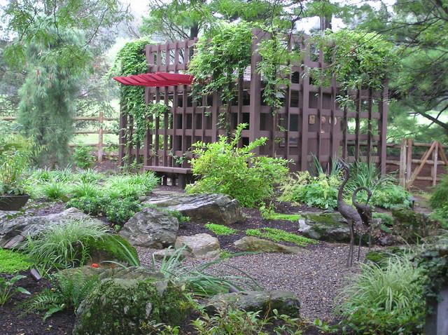 Japanese Garden アジアン 庭ランドスケープ