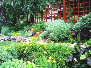 """""""Japanese"""" inspired garden"""