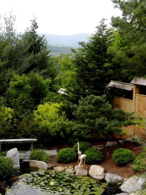 Japanese Inspired Garden With Koi Pond Asian Garden Part 80