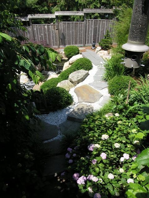 Japanese-inspired Garden With Koi Pond