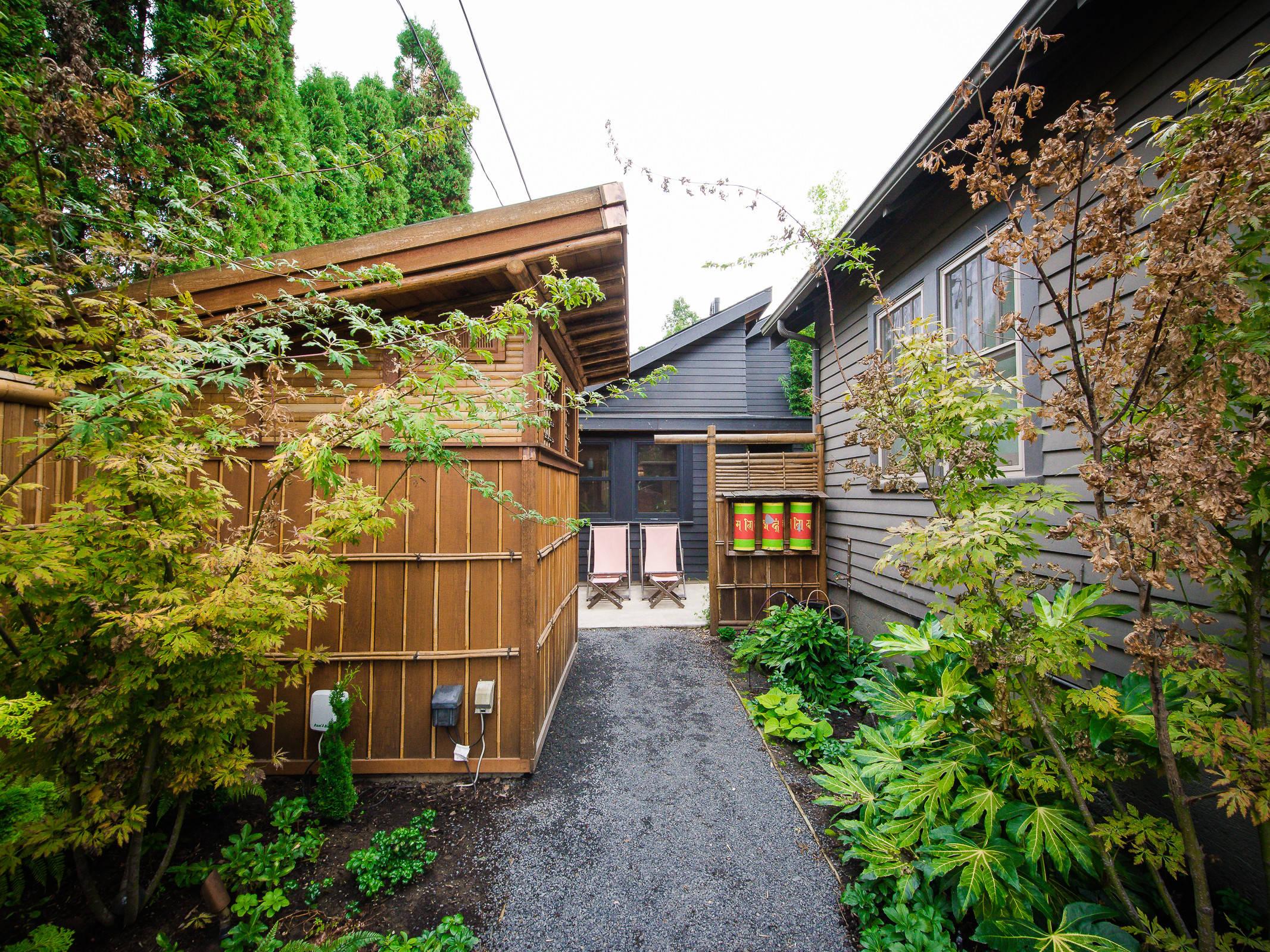 Japanese Modern Adu Tiny House For A Designer Asian Landscape Portland By Sbaird Design Houzz