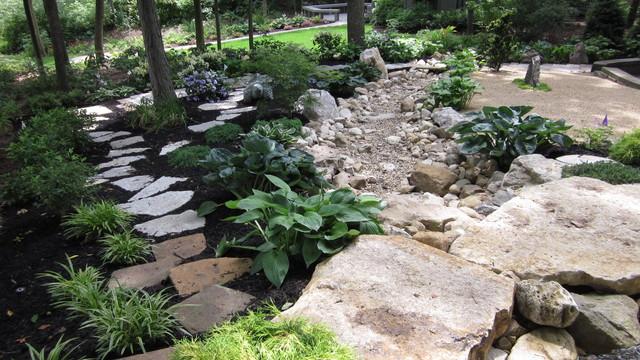 Gentil Japanese Style Garden (Dublin, OH) Asian Landscape