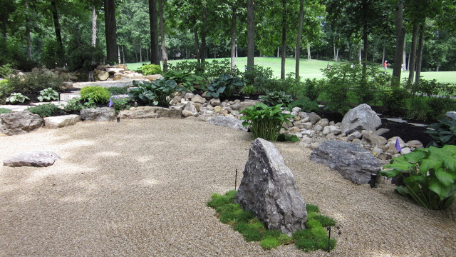 Japanese Style Garden (Dublin, OH) Asian Landscape Part 17