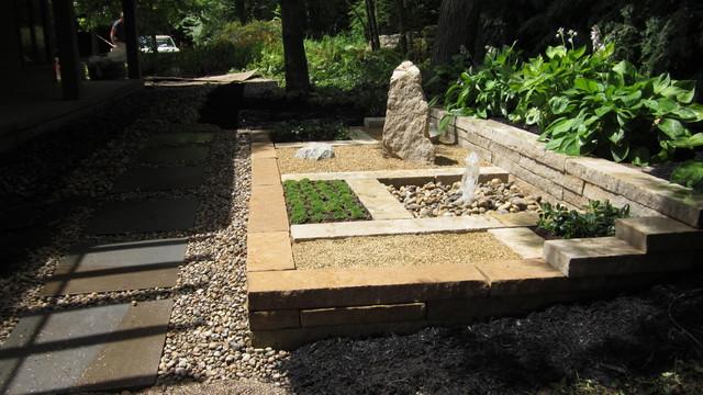 Japanese Style Landscaping japanese style garden (dublin, oh) - asian - landscape - columbus