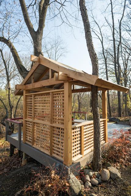 Japanese style tea house for Japanese tea house garden design
