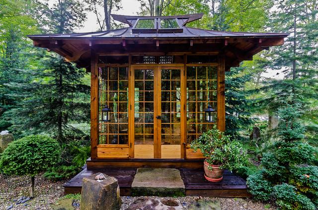 Japanese Tea House Asian Landscape Cleveland By