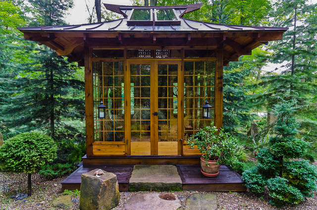 Japanese Tea House Asian Landscape Other Metro By