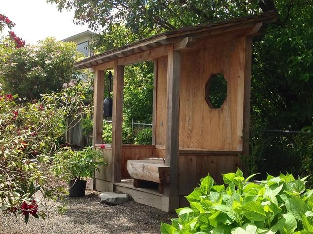 Japanese Tea House Asian Landscape Seattle By