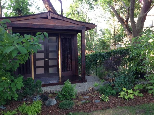 Japanese Tea House Zen Garden