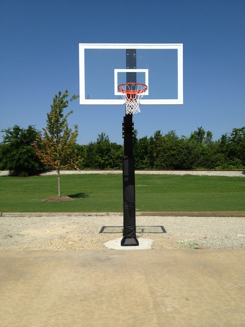 Jd S 39 S Hercules Diamond Basketball System On A 50x65 In