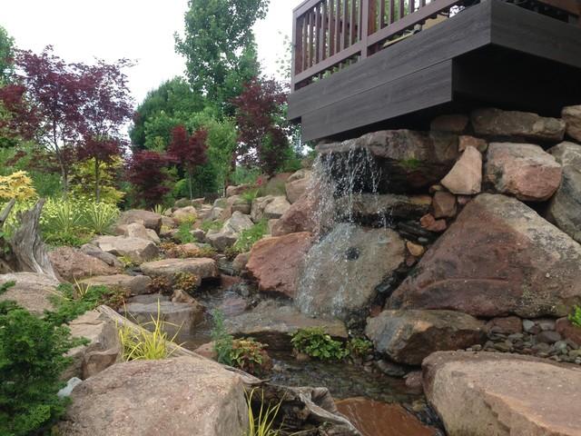 Jim & Debi's Backyard, Mohnton PA traditional-landscape