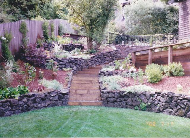 Job portfolio photos traditional landscape san for Garden design internship