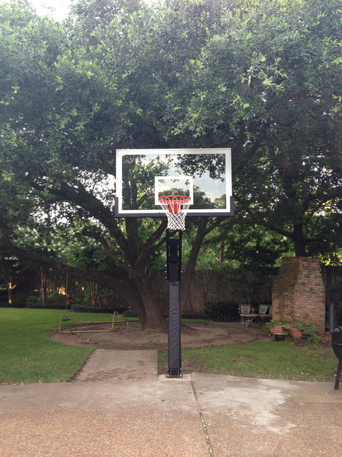 John F 39 S Pro Dunk Platinum Basketball System On A 20x20 In