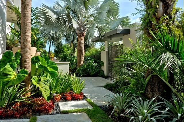 Jones Residence Exotique Jardin Miami Par Craig