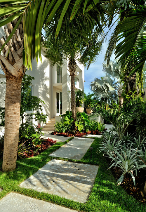 Tropical Landscape by Key West Landscape Architects & Landscape Designers Craig Reynolds Landscape Architecture