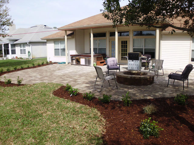Julington creek landscape jacksonville by florida for Landscaping rocks jacksonville