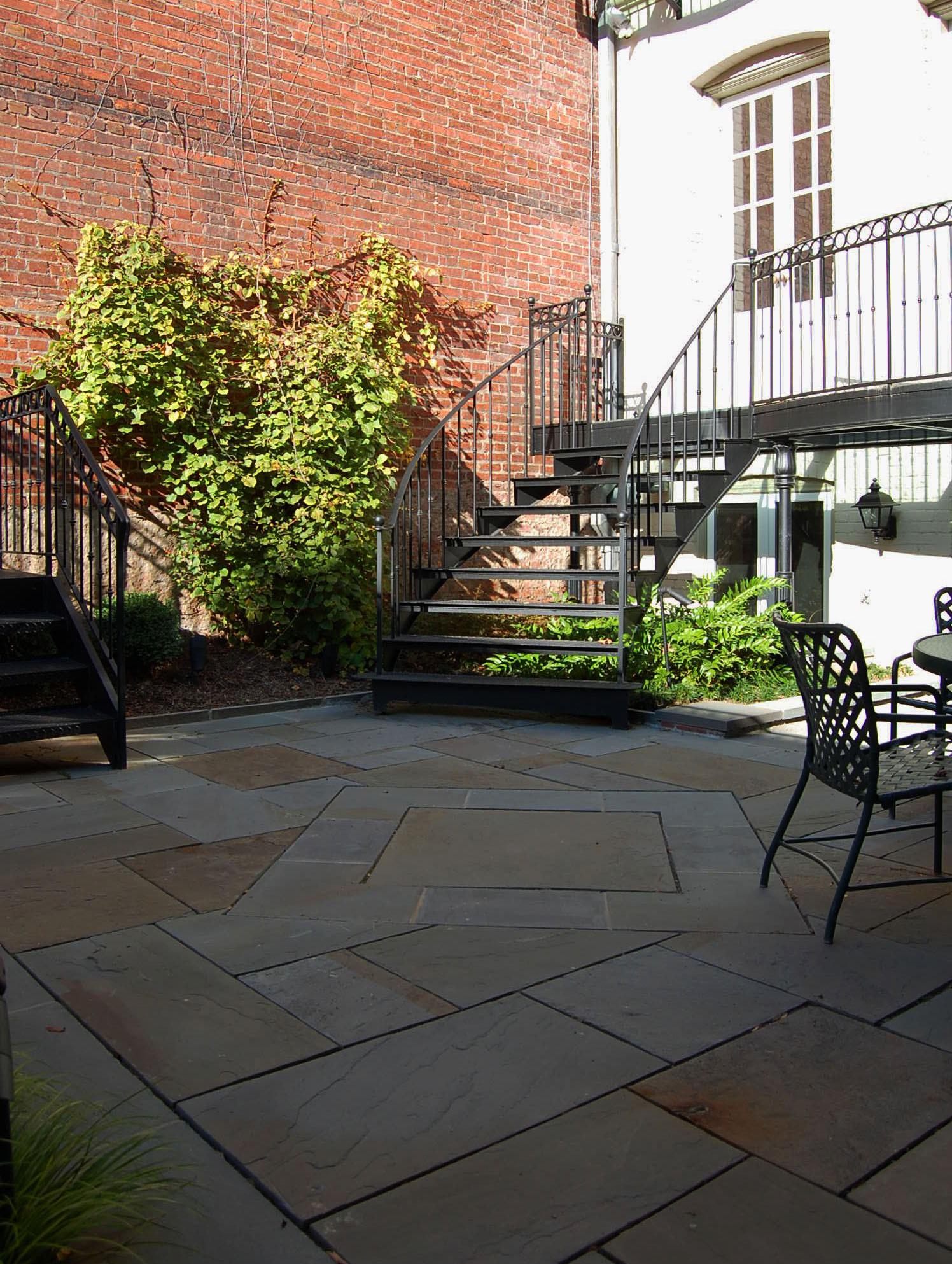 Kalorama DC Courtyard Garden
