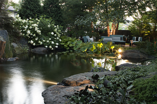 Kane Brothers Water Features traditional-landscape