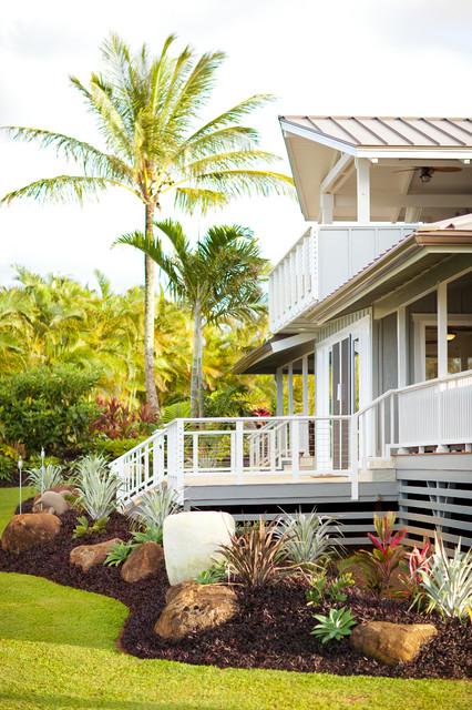 kauai residence tropical landscape hawaii by