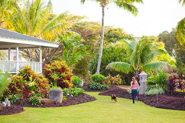 Kauai Residence Tropical Landscape Hawaii By