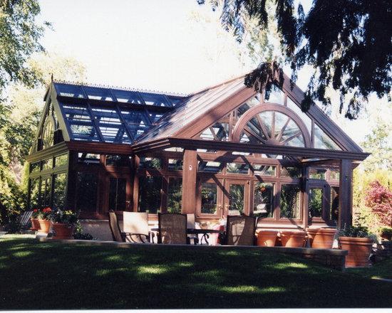Kelowna Garden Room - A Garden Room boasting our Luxury 6 Wide aluminum glazing bars.