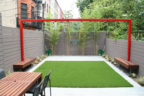 15 ultra kid friendly backyard ideas install it direct - Small space garden design ideas set ...