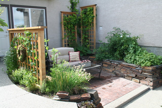 Kitchen garden landscape calgary by your space by design for Landscape design calgary