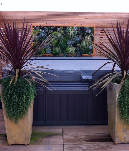 Kits Point Penthouse contemporary-landscape