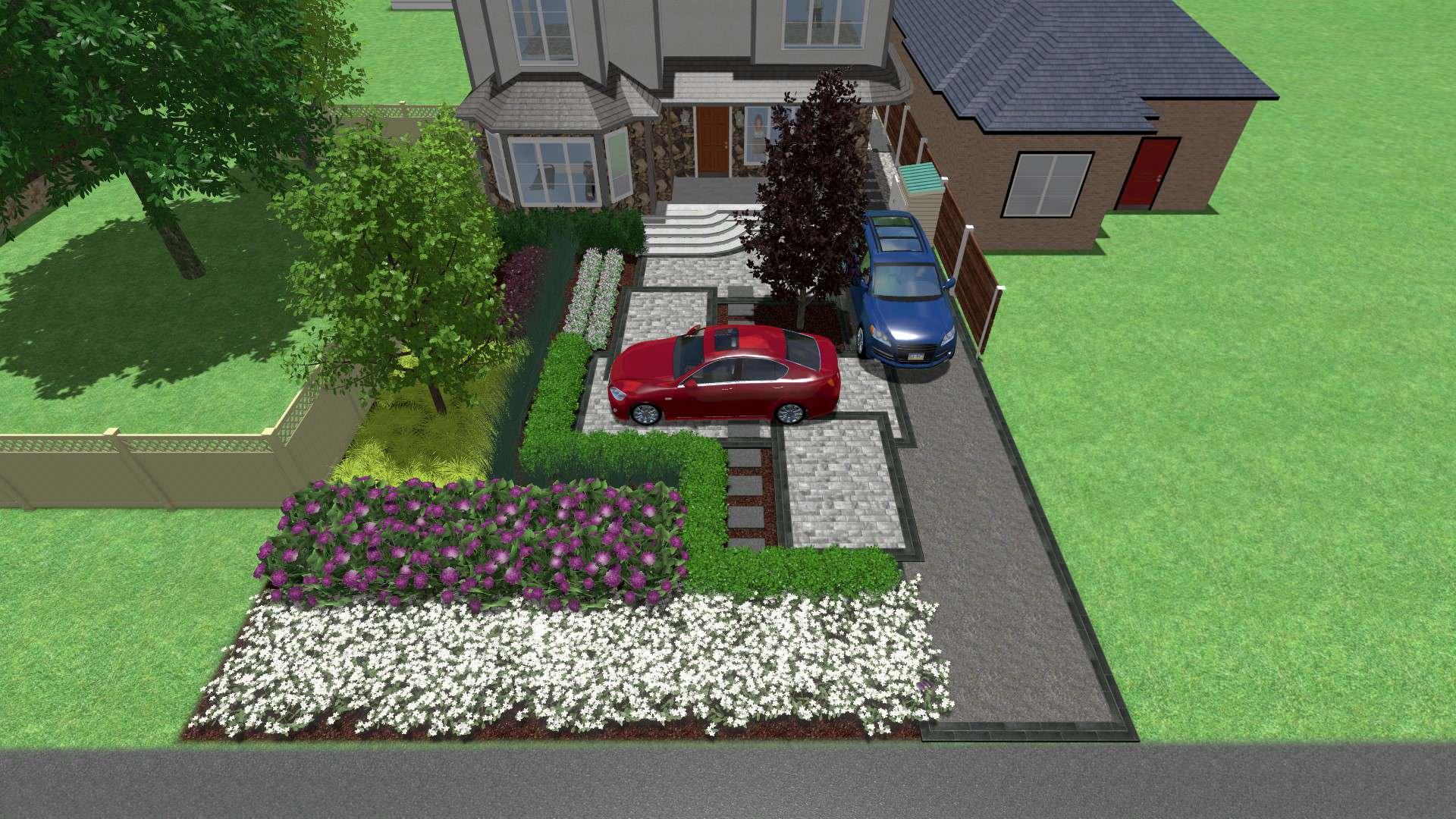 Kleinburg Front Yard Makeover