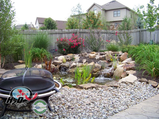 Koi pond backyard pond small pond ideas for your for Design fish pond backyard