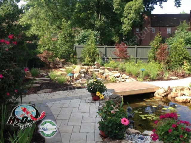 Small Backyard Koi Pond Ideas : KOI Pond, Backyard Pond & Small Pond Ideas for your Kentucky Landscape