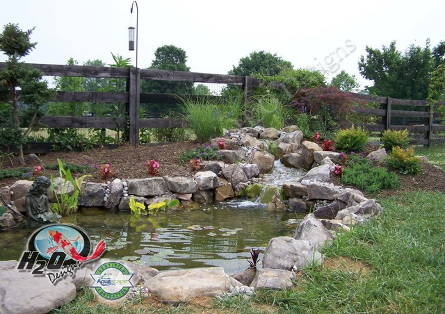 Garden Design: Garden Design with KOI Pond, Backyard Pond uamp ...
