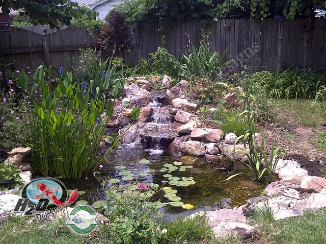 KOI Pond, Backyard Pond & Small Pond Ideas for your ... on Koi Ponds Ideas id=52734