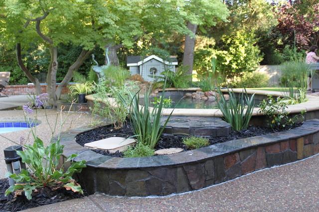 Koi Pond Traditional Landscape Sacramento By