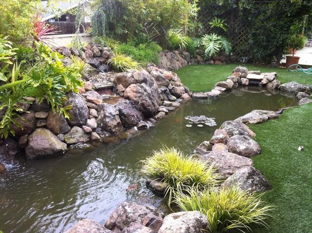 Koi Pond Tropical Landscape tropical-landscape