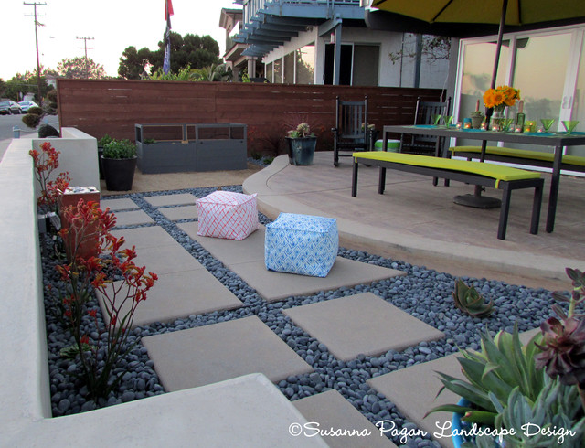 Photo of a modern landscaping in San Diego.
