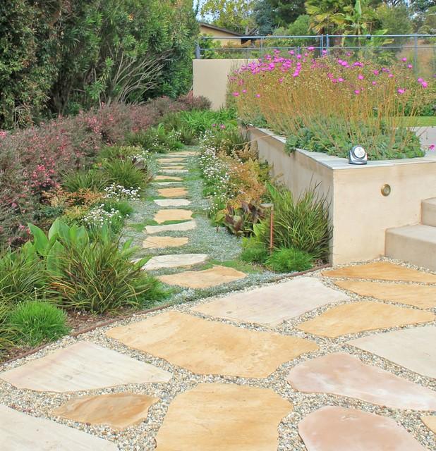 Mid Century Landscaping: La Jolla Mid-century Modern