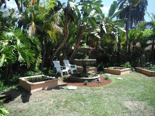 La Jolla Vegetable And Herb Garden Eclectic Landscape