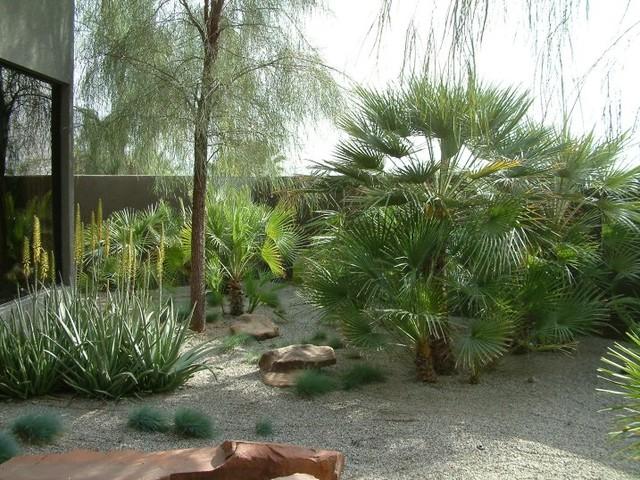 La Quinta Residence modern-landscape