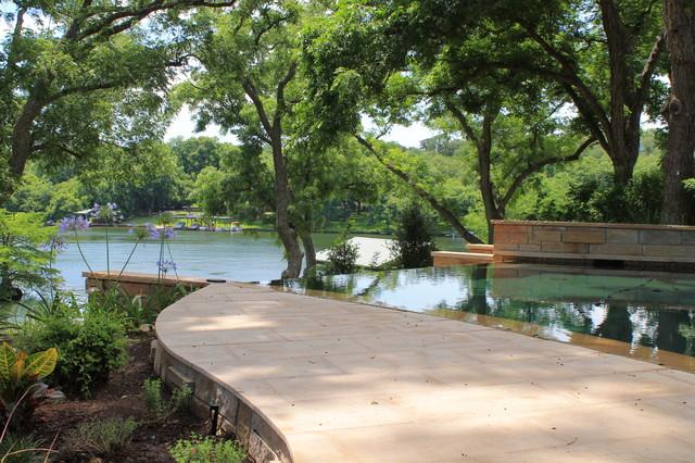 Lake Austin Residence mediterranean-landscape