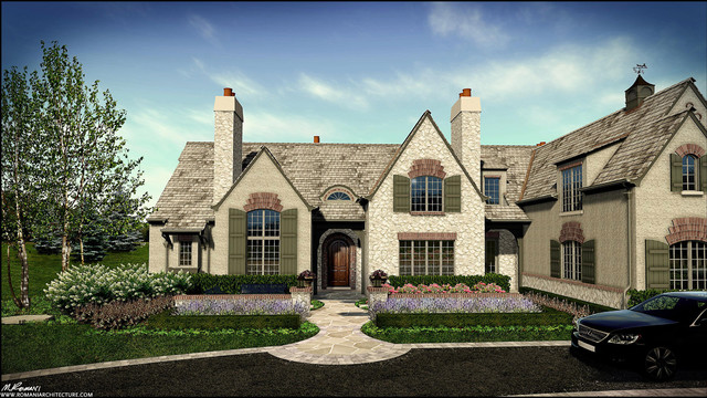 Lake forest english country design traditional for English for architects