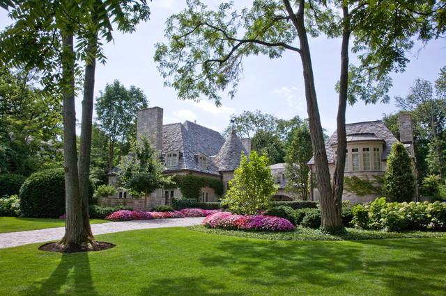 Lake Forest Estate Classique Jardin Chicago Par