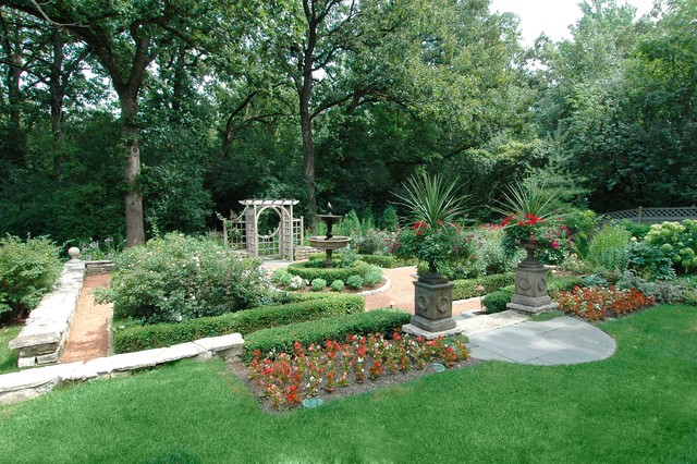 Lake Forest Garden Traditional Landscape Chicago