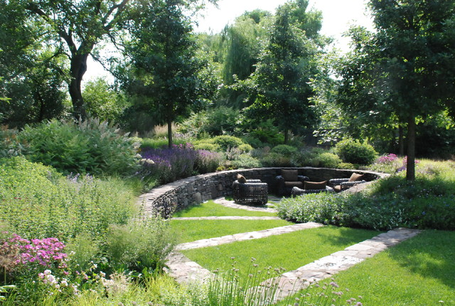 Lake Forest Home traditional-landscape