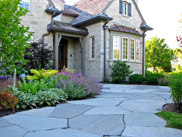 Lake Forest Residence traditional landscape